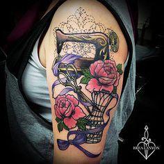 sewing tattoos