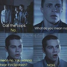 I don't watch Teen Wolf but I know who Dylan O'Brien is And this is FUNNY!
