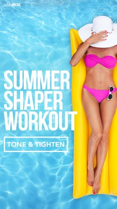 VIDEO: This workout will tone your stomach and thighs for an overall slimmer summer body!
