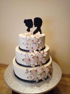 Wedding cake by Gabriela Doroghy