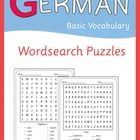 German Wordsearch Puzzles