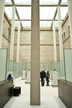 These are photos from a recent visit to David Chipperfields, Neues Museum in Berlin. It is well worth a visit if your are in the city.