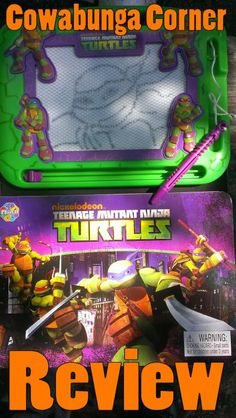 This is a drawing book for the Nickelodeon TMNT.  An awesome new item out for 2013.  Would make a great gift for the Holidays :)  http://www.cowabungacorner.com/content/review-tmnt-learning-series-drawing