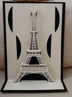 Pop up architecture 👌🏻 Kirigami Templates, Origami And Kirigami, Paper Crafts Origami, Arte Pop Up, Pop Up Art, Paper Pop, 3d Paper, Architecture Origami, Paper Cutting