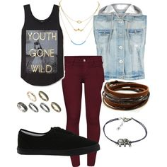 Dreaming of jeans. Fall be good to me! - http://AmericasMall.com/categories/juniors-teens.html