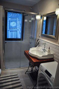 Wnętrza, łazienka - London - łazienka
