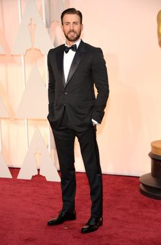 Pin for Later: See Every Star on This Year's Oscars Red Carpet! Chris Evans