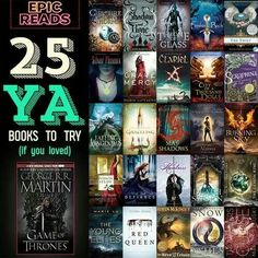 YA books for game of thrones fans | young adult fantasy epic novels | teen books historical fantasy
