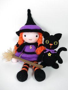 amigurumi witch - Buscar con Google