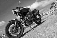 RocketGarage Cafe Racer: Moto Guzzi Le Mans Cafè
