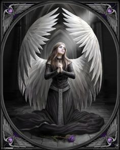 Anne Stokes - Prayer for the Fallen Miniposter
