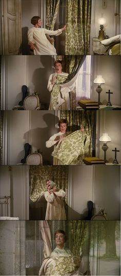 Julie Andrews as Maria Favorite Things Concluded in The Sound of Music