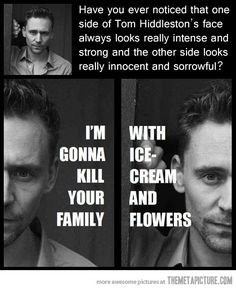 Hahaha! Oh Loki.
