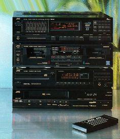 Audio - Video JVC Hi-Fi 1988 www.1001hifi.com