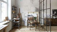 atelier d'artiste appartement stockholm