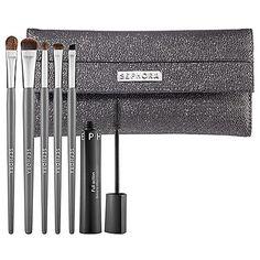 SEPHORA COLLECTION Smoke Machine Smokey Eye Brush Set: Shop Brush Sets   Sephora