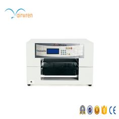 New design 2017  Cotton  fabric printer a3 sizes T shirt printer machine  with 6 colors