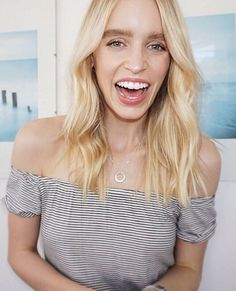 A petite circle... totally worthy of a BIG smile,⠀ The stunning @emilydoherty_ wearing the Small sterling Silver Ubercircle. What's got you smiling today? www.uberkate.com.au ⠀ ✨✨✨✨✨✨✨✨✨:sparkle