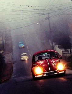just want to drive a bug to have the satisfaction of knowing someone is going to get punched when i drive by.. haha(: