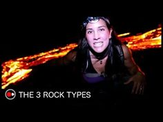 Rock Types and the Rock Cycle: Igneous Sedimentary Metamorphic - YouTube
