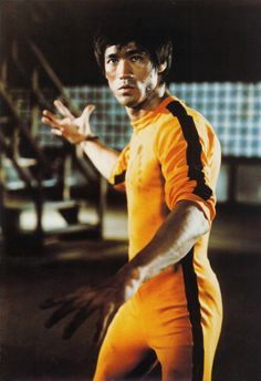 Fighter Bruce Lee...