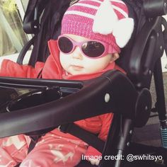 Thanks to @swhitsyo for this adorable pic of her little one in her Baby Trend jogger!