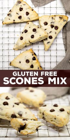 This gluten free scones mix makes quick work of the lightest, most airy pastries. Add your favorite mix-ins! Scones are not biscuits, I promise you that. Well, first off they're a Gluten Free Recipes For Breakfast, Best Gluten Free Recipes, Gluten Free Sweets, Gluten Free Breakfasts, Gluten Free Cakes, Gluten Free Baking, Gf Recipes, Fodmap Recipes, Filipino Recipes