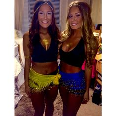 Pin by Victoria Bowen on Halloween Diy Halloween Party, Cute Halloween Costumes, Couple Halloween, Group Costumes Ideas, Costume Ideas, Belly Dancer Halloween Costume, Halloween Kleidung, Bff, Party Decoration