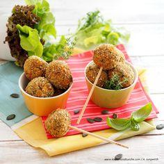 Steirische Zucchinibällchen » Kochrezepte von Kochen & Küche
