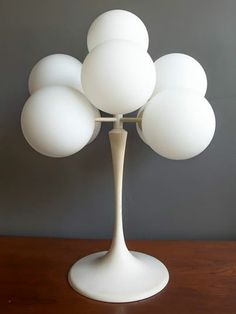 Nine Globe Table Lamp by Bauhaus designer Max Bill.