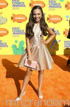 Maddie at the KCA's 2015!!!