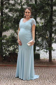 vestido madrinha grávida