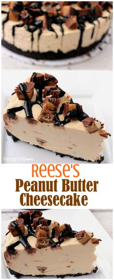 Reese's Peanut Butter No Bake Cheesecake - Raining Hot Coupons