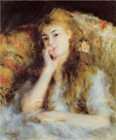 The Thinker - Pierre-Auguste Renoir