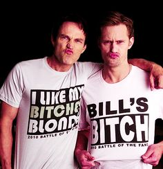 I love True Blood and men that have a good sense of humor!