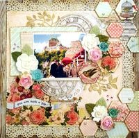 A Project by Lu Minoti from our Scrapbooking Gallery originally submitted 08/06/12 at 05:25 PM