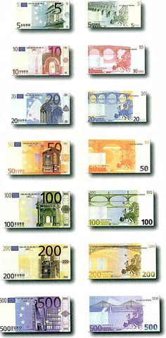 Jayden Parrott Euro- This is a picture of European money, or euros. And the picture shows that euros are a currency or money system for Europe. Piece Euro, Money Pictures, World Thinking Day, Gold Money, Money Bank, World Coins, Coin Collecting, Wealth, How To Make Money