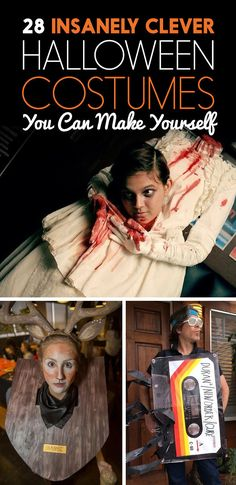 28 Unexpected Halloween Costumes You Can Make Yourself #lol #daleholmanmaine