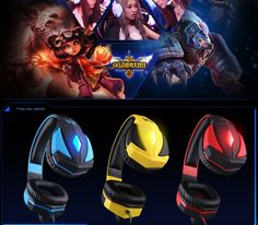 KOTION EACH G4000 Pro Gaming Headset Headphones Microphone LED Light Stereo Surround Headband for computer pc