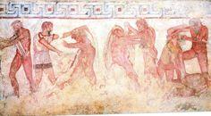 Vulci (Viterbo) - Battle between Eroes from Tomba François