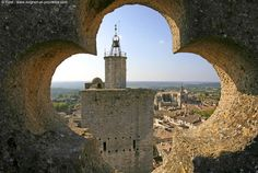 Ville d'Uzès dans le Gard - Languedoc Roussillon | Avignon et Provence