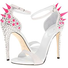 Ouch! The fashionista who wears these spiked heels is serious about making a statement. | Giuseppe Zanotti