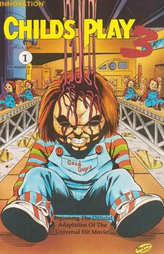 Child's Play The Official Comic Adaptation Horror Cartoon, Horror Comics, Horror Posters, Horror Icons, Film Posters, Chucky Movies, Child's Play Movie, Childs Play Chucky, Horror Artwork