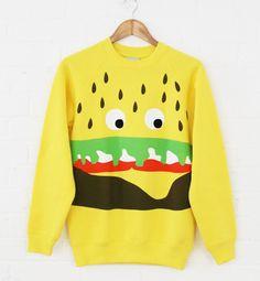 Lazy Oaf Burger Sweatshirt