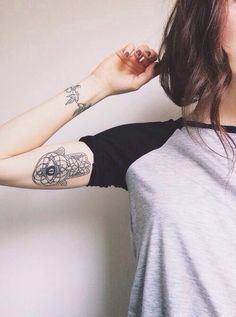 Hamsa Tattoo - like the location!