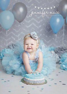 Vintage Lace Cinderella Tutu Skirt, Romper, Headband- Light Blue, Gray, Flower Girl, Birthday, Cake Smash, Wedding, Toddler, Baby