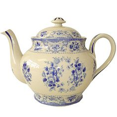 "Jane Austen Inspired ""Pemberly"" Tea Pot"
