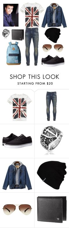""""" by karla-renne on Polyvore featuring Scotch & Soda, Lakai, Bling Jewelry, Hurley, Ray-Ban y Dakine"
