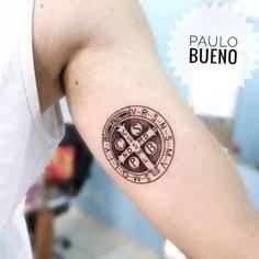 Resultado de imagem para medalha são bento tatuagem