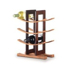 Anchor Home Collection Bamboo Wine Rack with Espresso Finish (Kitchen)